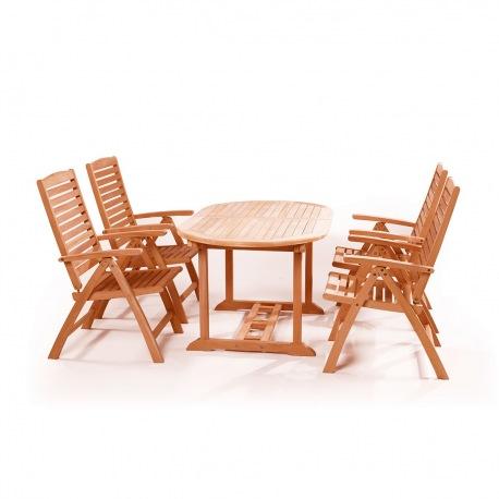 Set mobilier pentru gradina Alovis