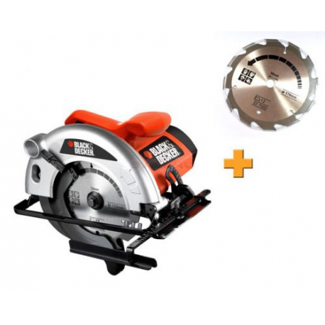 Fierastrau circular Black&Decker CD601A, 1100W